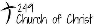 249 Church of Christ Logo